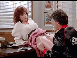 vintage hairy office. Kay Parker