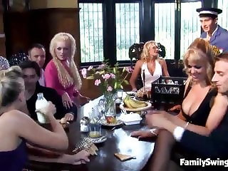 Swingers Dine Then Swing Starring Valerie Pearl, Kat Lee