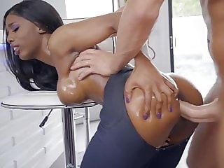 Brazzers presents Sarah Banks, ebony in Jeans fucked hard, hot