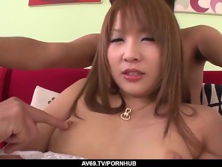 'Rinka Aiuchi attends her first casting where she fucks'