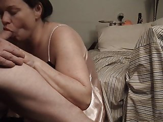 Naughty Aunt Lets Me Nut In Her Mouth, Swallows Every Drop!