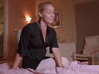 POV - Blonde sucking and fucking