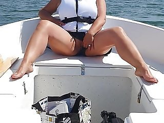 Flashing pussy on board.