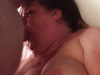 Quarantine Mouth Fuck and Orgasm