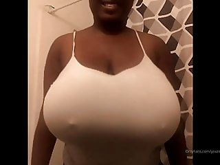 Short Stack with bowling ball tits
