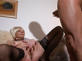 Granny demands cock and orgasms
