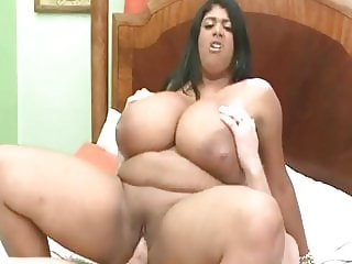 Horny Babe With Massive Tits Gets Fucked