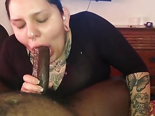Serious blowjob