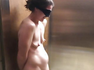 Naked in the Elevator, uncensored
