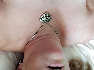 Cuckold Wife Squirting w Bic Cock