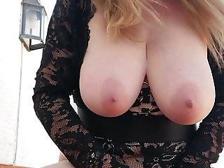 Big Titty Granny Riding Dildo