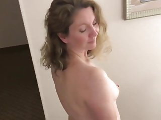 Horny Housewife at a Hotel