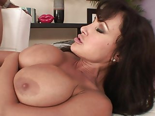 big titted wife hires huge black cock to fuck her