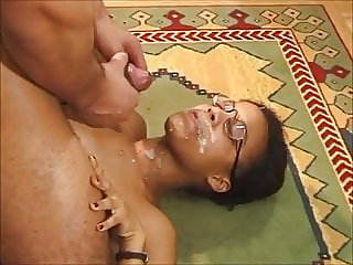 Hot ebony girl Clara fucked by a big black cock