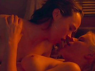 Ellen Page and Kate Mara, My Day of Mercy, Hot Lesbian Sex Scenes
