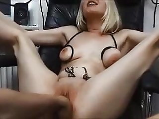 Tied slutty wife  - Soft bdsm and fisting