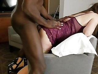 Hotwife in Cuffs Takes Master's BBC