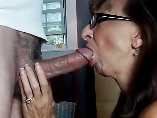 Perfect Granny swallows
