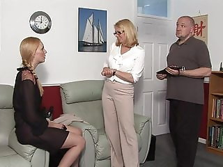 Amelia Jane Rutherford gets punished by an angry couple
