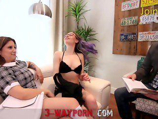 '3-Way Porn - He Fuck two Nice Chick'