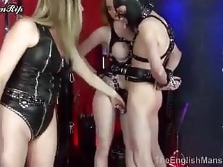 Mistress Dominates and Fucks Couple