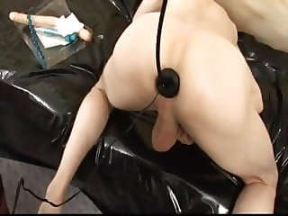 Mature Mistress Fucks Man Slaves (very dirty talking)