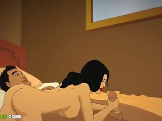 'Telugu Indian MILF Cartoon Porn Animation'