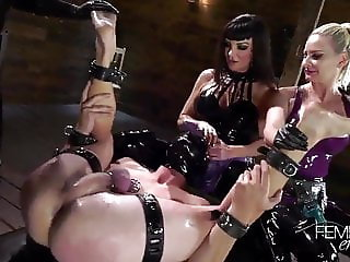 Triple Mistress Gangbang