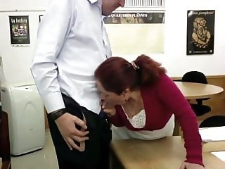 Secretary Rosi fucking in my office