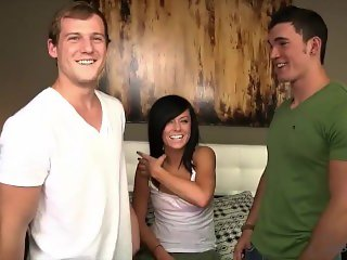 'Corbin Fisher Bi - Reed Destroyes Jon In Hot College Jock Bareback 3way'