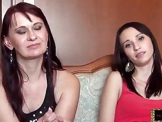 Mom and daughter audition