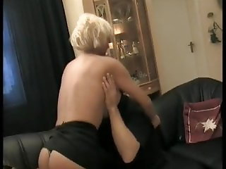 Lucky Guy with Lusty Juicy Mom