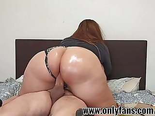 I cum inside my boss's wife's pussy